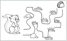 Crafts,Actvities and Worksheets for Preschool,Toddler and Kindergarten.Free printables and activity pages for free.Lots of worksheets and coloring pages. Mazes For Kids Printable, Printable Animals, Free Printables, Maze Puzzles, 2 Kind, Alphabet Games, Kindergarten Fun, Infancy, Preschool Worksheets