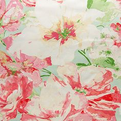 Fresh Picked is large-scale floral design from the A Breath Of Spring Collection by Waverly. This fabric features huge flowers motif screen printed on a beautiful cotton twill with a soft and supple hand.