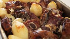 Slow-cooked oven-baked lamb recipe (kleftiko) : SBS Food