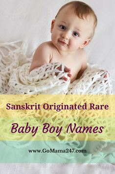 Most Beautiful and Sanskrit Baby Boys Names