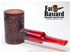 Tall Red Fat Shank Poker Pipe Poker, Pipes And Cigars, Denmark, Pipe Smoking, Tobacco Pipes, Fat, Canes, Handmade, Shank