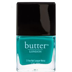 butter LONDON Nail Lacquer - Slapper ($15) ❤ liked on Polyvore featuring beauty products, nail care, nail polish, makeup, beauty, filler, butter london, butter london nail lacquer and butter london nail polish
