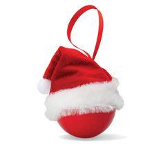 URID Merchandise -   Bola de Natal com gorro de Pai Natal   2.66 http://uridmerchandise.com/loja/bola-de-natal-com-gorro-de-pai/