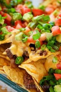8 Ingredient Nachos Madness Recipe by Munchkintime-- - www.munchkintime.com #nachos #nachosrecipe Best Appetizer Recipes, Best Dinner Recipes, Mexican Food Recipes, Soup Recipes, Salad Recipes, Great Recipes, Cooking Recipes, Yummy Recipes, Mexican Meals