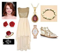 """""""Winter Wonderland Semi Formal 2016"""" by sunshinegoddess7 on Polyvore featuring Marc Fisher, Bling Jewelry, Lord & Taylor and Kate Spade"""