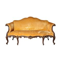 Rare 18th Century Period  George III Sofa in the French Taste of Louis XV