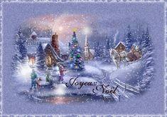Fond d'écran animé Noël 0134