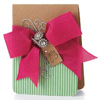 Glitzy Joy Card by @Windy Robinson - supplies and instructions included