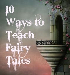 This site with ways to teach fairytales gives me an idea.  It would be fun to make the theme for this year's summer camp at school Fairy Tales.  I think we could work in lots of different activities to still teach curriculum-related materials.