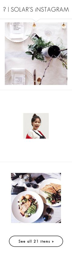 """""""ॐ   SOLAR'S iNSTAGRAM"""" by tiamos ❤ liked on Polyvore featuring SOLARiNSTA, home, home decor, pictures, instagram, food, photos, pics, couples and filler"""