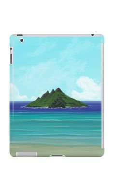 """""""Lost Island"""" iPad Cases & Skins by Lidra   Redbubble"""