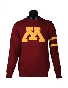 Minnesota Gopher Crewneck Sweater