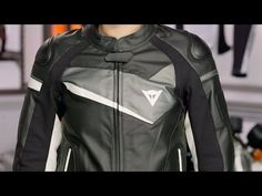 Dainese Women's Veloster Leather Jacket Review at RevZilla.com - YouTube