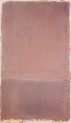 """ Mark Rothko, Untitled """