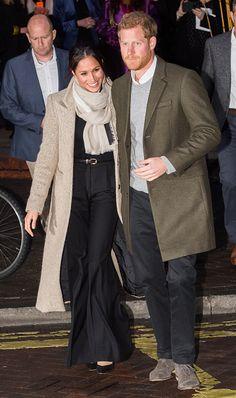 Prince Harry and Meghan Markel Visit Reprezent