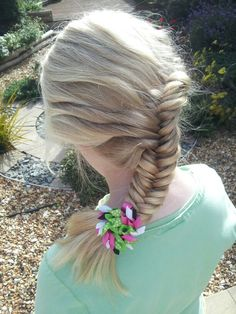 French inverted fishtail braid ♥