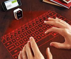 It doesn't matter wherever you go or wherever you want to carry it! Carrying keyboard is just a simple matter. This cell phone size infrared virtual keyboard will make a easiest way for you to use keyboard at anywhere. You just need a flat surface and comfortably use it for your laptop, smartphone or tablet through connecting via Bluetooth.Price 99.99$