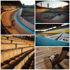 The legendary Velodromo Vigorelli, closed for over 40 years, is open again to cyclists... [via vernor & photo]   RELATED: Give it a go: 5 reasons to ride and train at your local velodrome - http://roa.rs/GElaOE?utm_content=buffer05437&utm_medium=social&utm_source=pinterest.com&utm_campaign=buffer.   #cycling #velodrome #track #velodromo #vigorelli #fixedgear