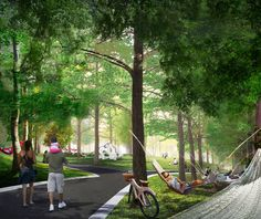 Governors Island, NY | West 8 | Hammock Grove Concept