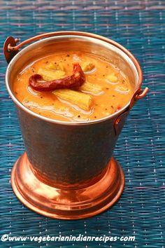 drumstick sambar - tasty and easy to make sambar for idli, dosa, rice #indianfood #food #recipes #vegetarian