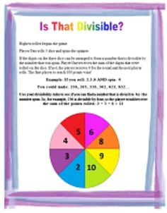 I'm having a middle school math linky party. Please link up your free middle school math resources! Let the sharing begin! Math Resources, Math Activities, Math Games, Math Stations, Math Centers, Math Properties, Divisibility Rules, Fifth Grade Math, Fourth Grade