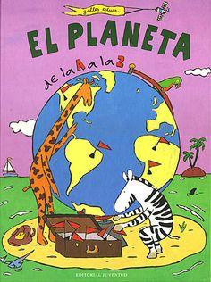 Adela la jirafa y Zorba la cebra se embarcan para hacer un viaje alrededor del mundo. Cada escala de su viaje por los cinco continentes se representa con una gran ilustración a doble página en la que el pequeño lector deberá asociar palabras que aparecen a pie de página con los animales, plantas, casas y otros objetos que aparecen en las imágenes.