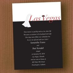 Love on the Strip - Invitation | Quaint Wedding Stationery & Accessories
