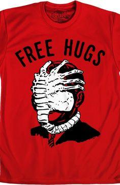 Free Hugs Alien T-Shirt