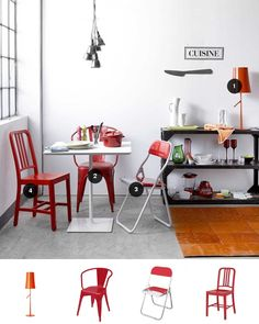 Still on the subject of bold compilations, getting different designs for all your dining chairs, with only a colour or a material in common, has been one of the exciting dining room trends around for a while now.