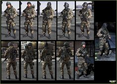 Call of Duty MW3 © Activision / Infinity Ward -------- Jake Rowell = Character Art  & Marketing Image /  Steven Giesler & Jake Rowell = Head Art  /  Taehoon Oh, Peter Chen, Gennady Babichenko = Weapon Art