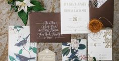 SMPers, get ready to feast your eyes on someseriously pretty flora and fauna goodness. Inspired byvintage Audubon prints, this shoot is the perfect marriage of masculine and feminine, including the wildly beautiful invites fromPaper Moss, braided leather hairstyle, rich hues, and even a signature whiskey cocktail. All in all, it's sweet rustic wedding heaven.We're sending…