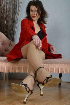Mature mistress feet