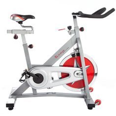 Sunny Health & Fitness 40 LBS KG) Flywheel Chain Drive Pro Indoor Cycling Exercise Bike Vélo Stationnaire in Exercise Bikes. Best Exercise Bike, Exercise Bike Reviews, Exercise Ball, Excercise, Indoor Cycling Bike, Cycling Bikes, Pro Cycling, Bike Indoor, Bicycles