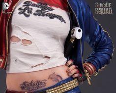 DCC Suicide Squad Statue Harley Quinn 004