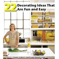 22 Decorating Ideas That Are Fun and Easy