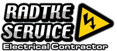 Radtke Service LLC - Electrical Contractor serving North Dakota Oil Field along with commercial and industrial work in MN, SD, and MT.