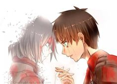 "Eren x Mikasa ♡ Eremika | Shingeki no Kyojin (Attack on Titan) #SnK ★""Eremika is canon!"""