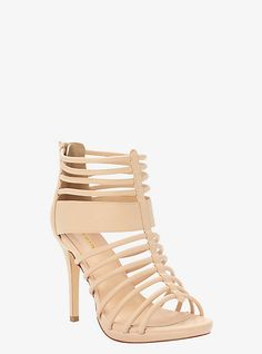 8455d070b60 Strappy Caged Sandals (Wide Width)