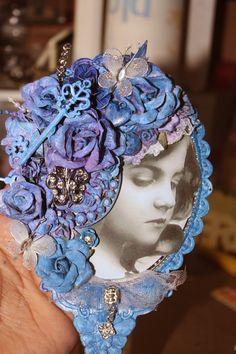 Creative Imagination by Norma G: Altered Dollar Store Hand Mirror (FInnabair/Angela...