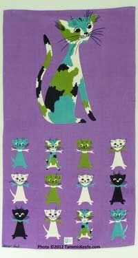 Tammis Keefe Towels, Fauna