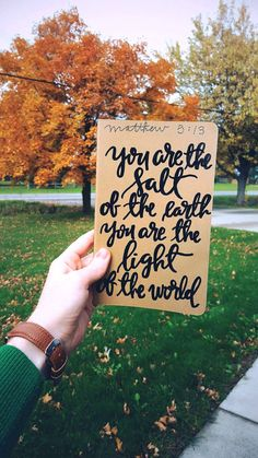 You are the salt of the earth, prayer journal, light of the world, moleskine kraft journal, scripture gift, Matt 5:13