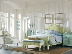 Maybe - Coastal Living Bedrooms | Coastal Living bedroom offers light colors and minimalism.
