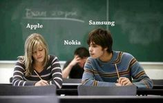 Apple vs Android vs Nokia