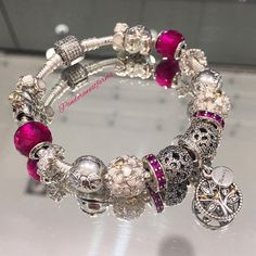 Pandora bracelet. Winter Christmas 2015