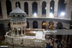 The tomb of Jesus Christ with the rotunda is seen in the Church of the Holy Sepulchre on March 21 2017 in Jerusalem Israel The tomb of Jesus Christ... Jesus Tomb, Jesus Christ, Stock Pictures, Stock Photos, Jerusalem Israel, Royalty Free Photos, March 21, Projects, Islam
