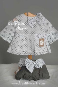 Conjunto niña de bombacho y blusa colección Catalina. Temporada Primavera Verano 2017 de Noma Fernandez Moda Infantil