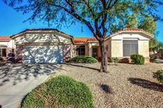 Sun City West Arizona Adult Community Homes For Sale  $229,000, 2 Beds, 2 Baths, 1,348 Sqr Feet  Beautiful Alpine Model 2 BR+ Den on corner lot in age restricted community. Major upgrades in 2014 include 18'' tile, custom cabinets and granite in kitchen & master bath, LG stainless appliances, walk-in pantry/storage. Custom 2-tone paint, plantation shutters, French doors to charming, north facinA complete and FREE UP-TO-DATE list of Phoenix homes for sale in Adult Communities!  http..