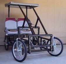 Four Wheel Electric Bike, American Speedster, Surrey, Quadricycle, E-Bike
