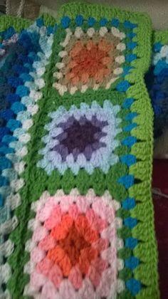 Mantas bebés a  crochet