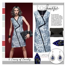 """""""Lattori Dress #29"""" by cherry-bh ❤ liked on Polyvore featuring Lattori, Givenchy, Nicholas Kirkwood, women's clothing, women, female, woman, misses, juniors and dress"""
